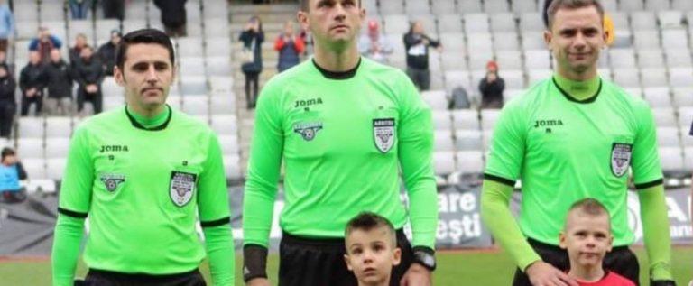 Vine alături de Haţegan! Încă un arbitru central din Arad, în Liga 1