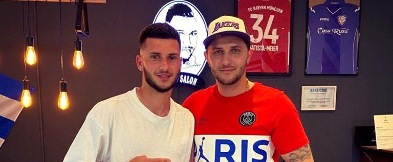 Fost fotbalist la UTA, acum tunde vedetele lui Bayern Munchen
