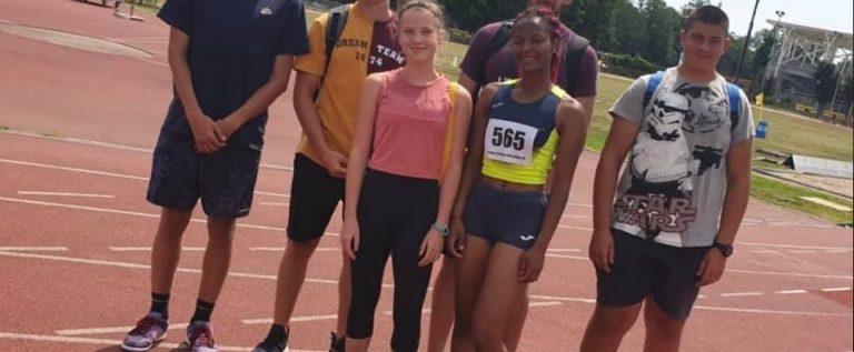Tinerii atleţi arădeni s-au remarcat în prima competiţie post-izolare