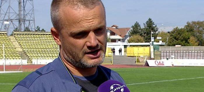 """Lincar îşi face curaj înainte de UTA: """"Mergem cu speranţe la Arad, după trei puncte""""!"""