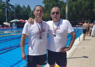 Înotătorii masters arădeni, la primele medalii de după pandemie