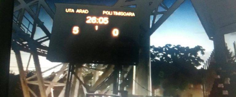 """Bibarţ se laudă cu """"televizoarele"""" de pe noul stadion! Două mini-tabele completează tabloul unui proiect penibil"""