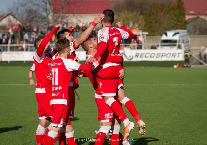 Să înceapă sărbătoarea în Arad: UTA este campioană şi a promovat în Liga 1!