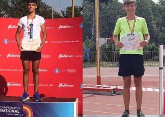 Micii atleţi de la CSS Gloria, de trei ori medaliaţi la Campionatul Naţional