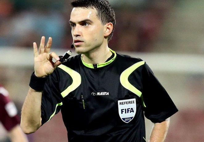 Ovidiu Haţegan a fost delegat la un meci din optimile Champions League