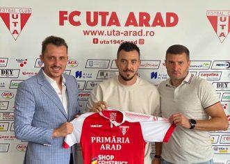 Ioan Hora şi Neluţ Roşu, primele achiziţii anunţate de UTA pentru Liga 1