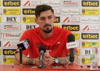 """Albu anunţă prima victorie a UTA-ei, în Liga 1: """"Concentraţi şi determinaţi"""""""