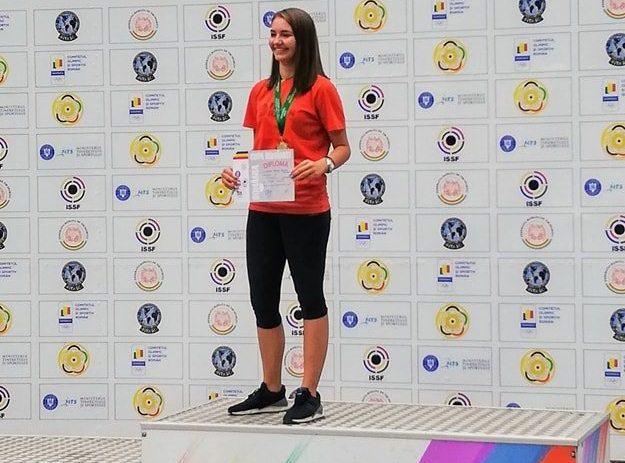 Talerista arădeană Briana Vărcuş, medalie de aur la Cupa României
