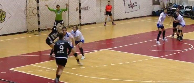 Impact dur cu Liga Florilor: fosta campioană EHF, prea bună pentru nou promovata Crişul