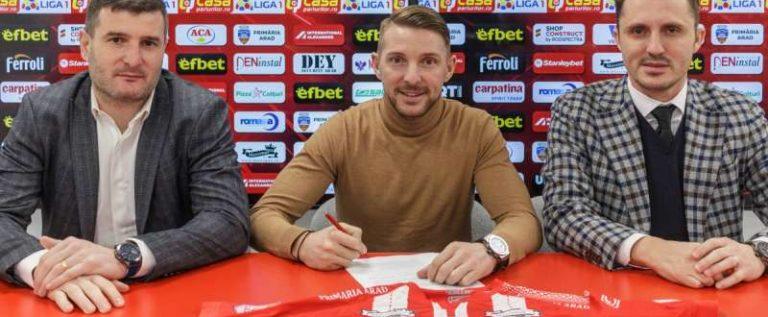 Liviu Antal a semnat pentru UTA Arad