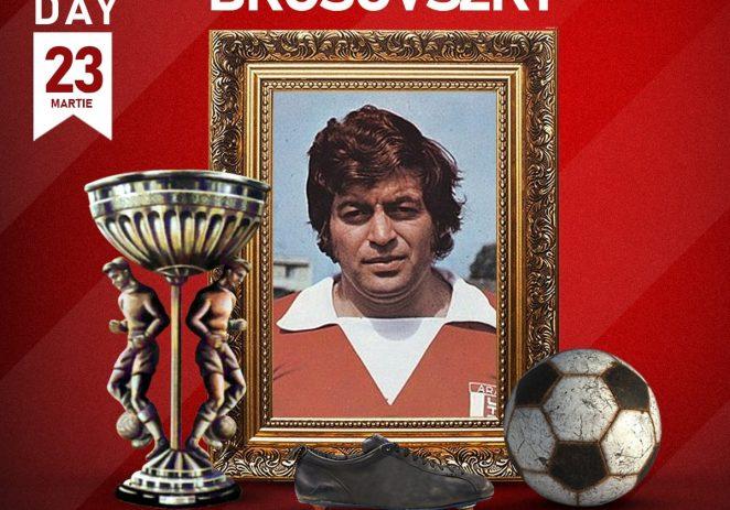 UTA îşi aminteşte astăzi de marele său fotbalist, Ladislau Brosovszky