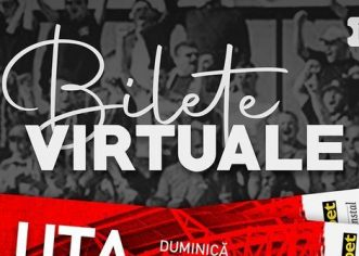 UTA a pus în vânzare bilete virtuale pentru meciul cu Sepsi OSK