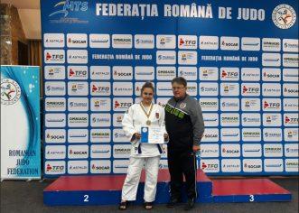 Judoka Andreea Ciopraga a cucerit bronzul naţional la junioare mari