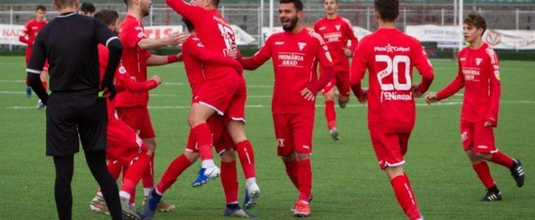 """Juniorii Academiei UTA, patru puncte în """"intermediara"""" din Liga Elitelor"""