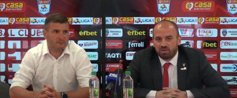 """Attila Brosovszki, noul manager al UTA-ei: """"Vom face tot posibilul să creștem ca și club"""""""
