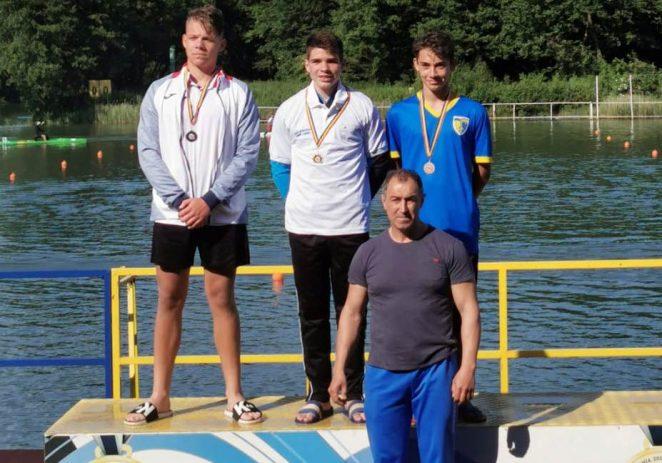 Kaiacist de la CSM Arad, campion naţional de maraton la cadeţi