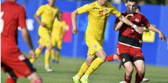Utistul David Miculescu a debutat la naţionala de tineret în eşecul cu Mexic