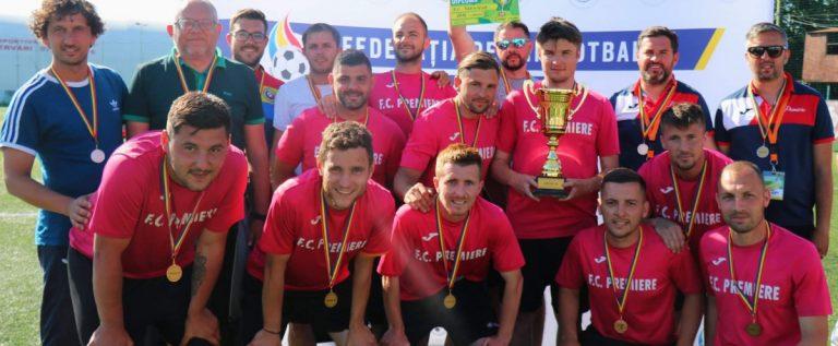 Premiere a luat bronzul la Supercupa României de minifotbal! Arădenii au şanse să joace în cupele europene