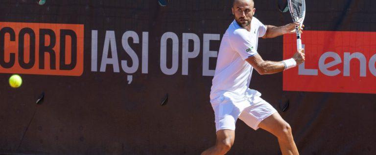 Marius Copil şi-a încheiat aventura la turneul challenger Concord Iaşi Open