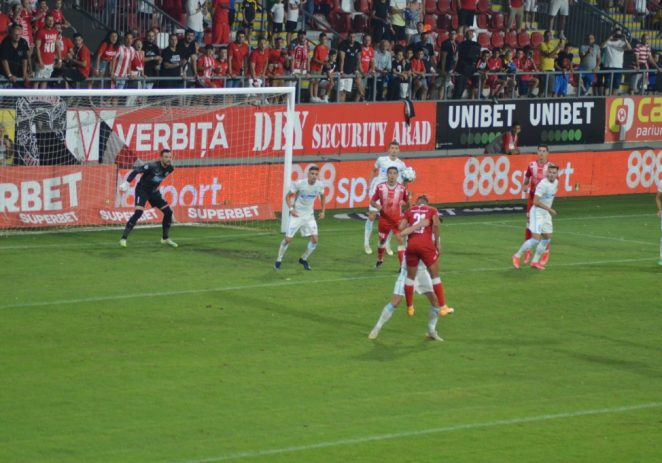 UTA a pierdut printre degete victoria cu FCSB!