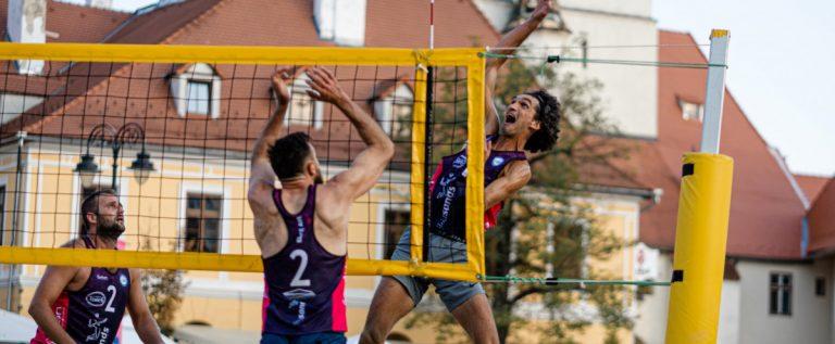 Lelea şi Lung au luat bronzul la Sibiu Sands!