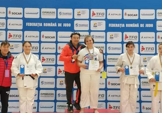 Medalii arădene pe tatami, la Naționalele de judo U14