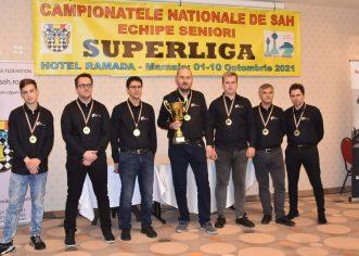 Șah Vados Arad este, în premieră, campioana României